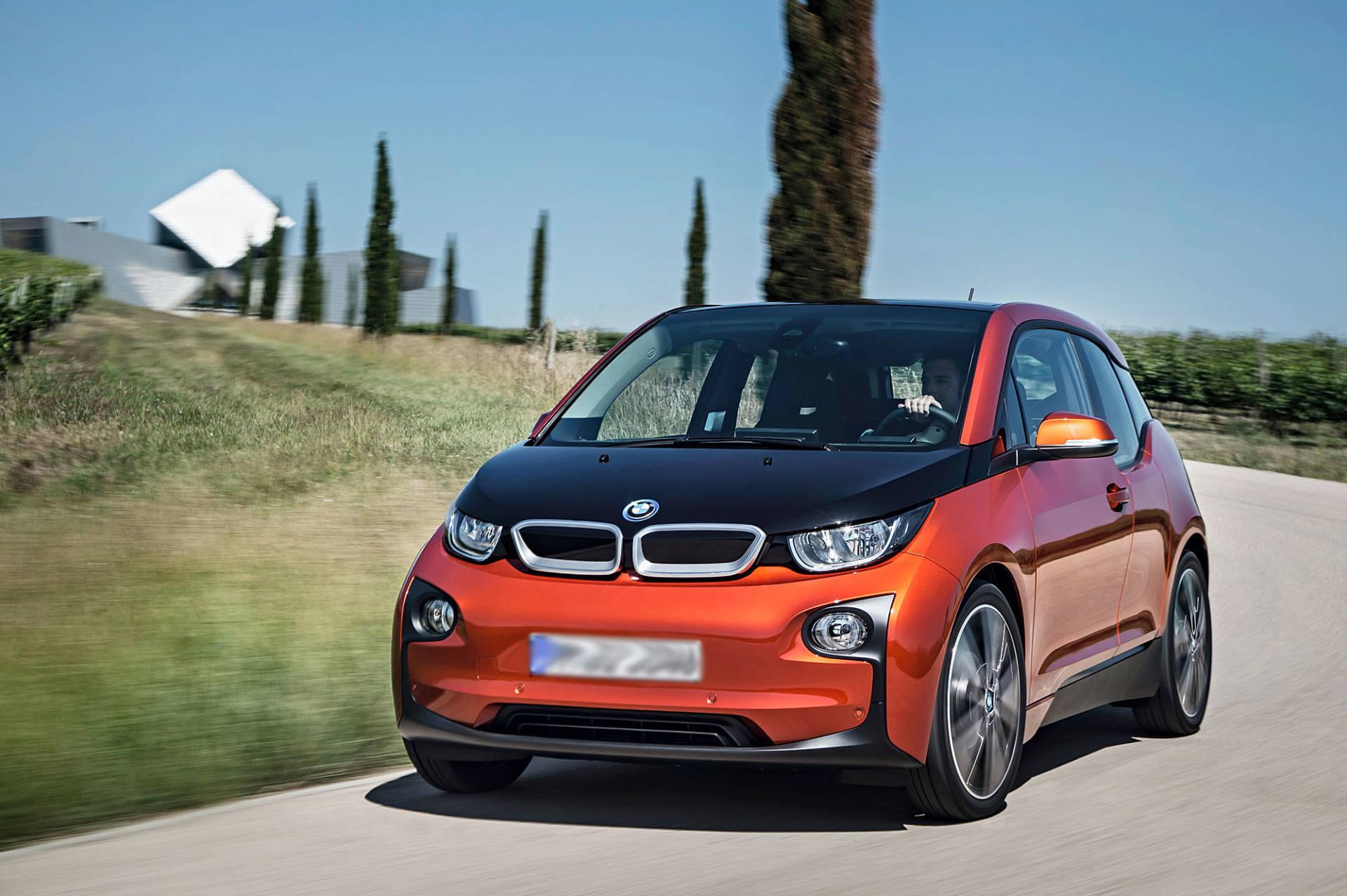 E-Auto mieten: Testbericht über den BMW i3