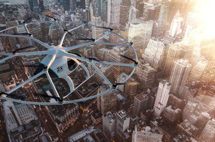 Volocopter über Dubai