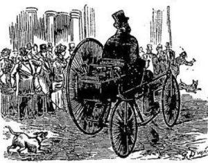 "Erstes Elektroauto: ""Trouve Tricycle"""