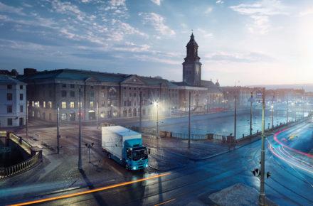 Elektrische LKWs erobern die Straße
