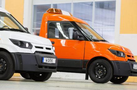 Elektroauto fürs Gewerbe