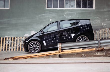 Solar-Auto Sion vom Münchner Unternehmen Sono Motors