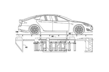 Teslas Patent für Wechsel-Akkus