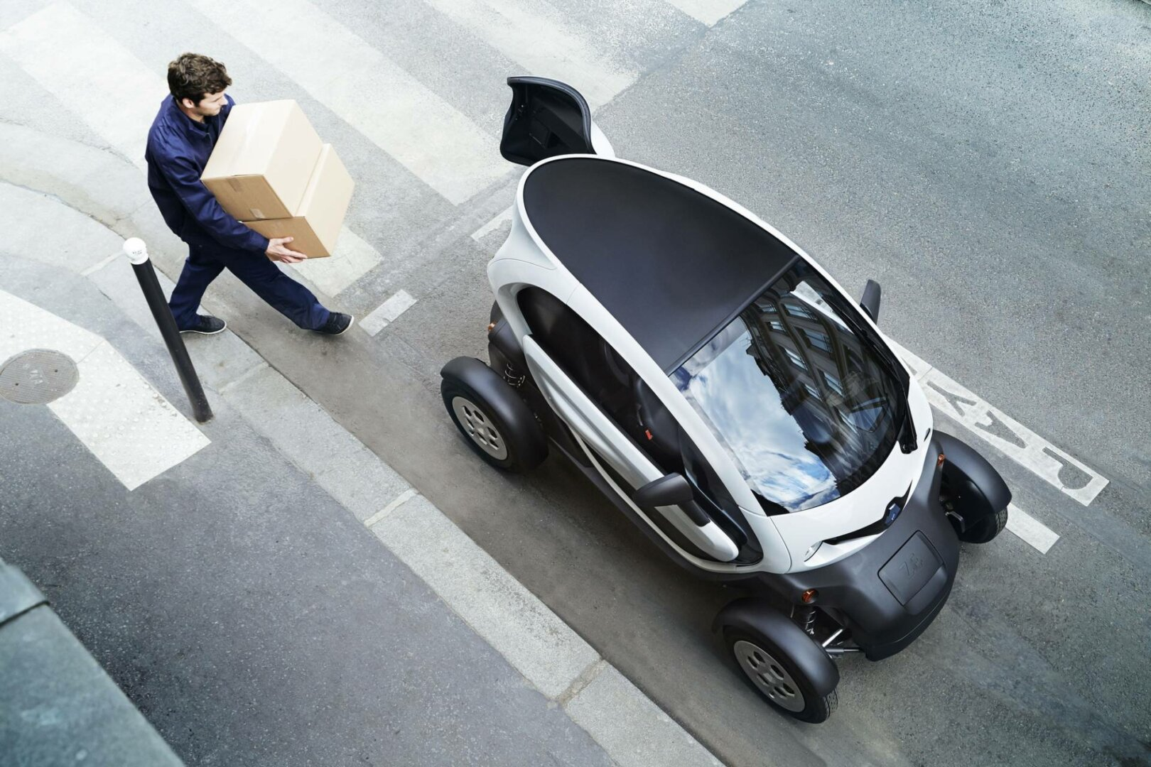 E-Autos fürs Gewerbe: Renault Twizy Cargo