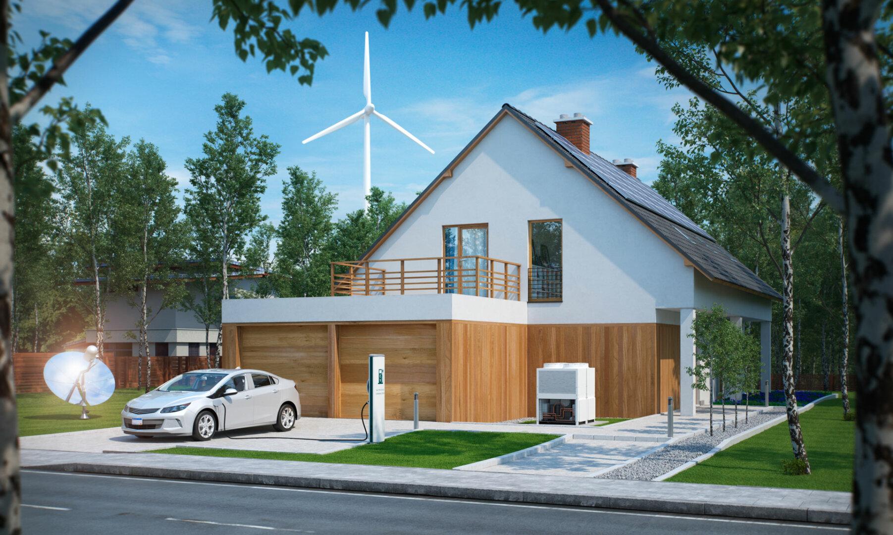 Wer nachhaltig bauen will, muss die Elektromobilität einbeziehen