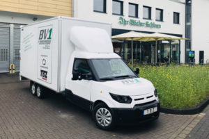 Bakery Vehicle One: der erste Serien-Elektro-3,5-Tonner Europas