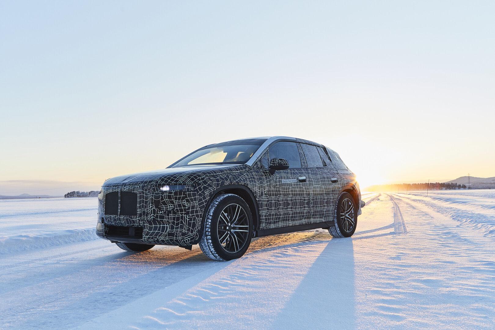 BMW iNext Winterfahrttest