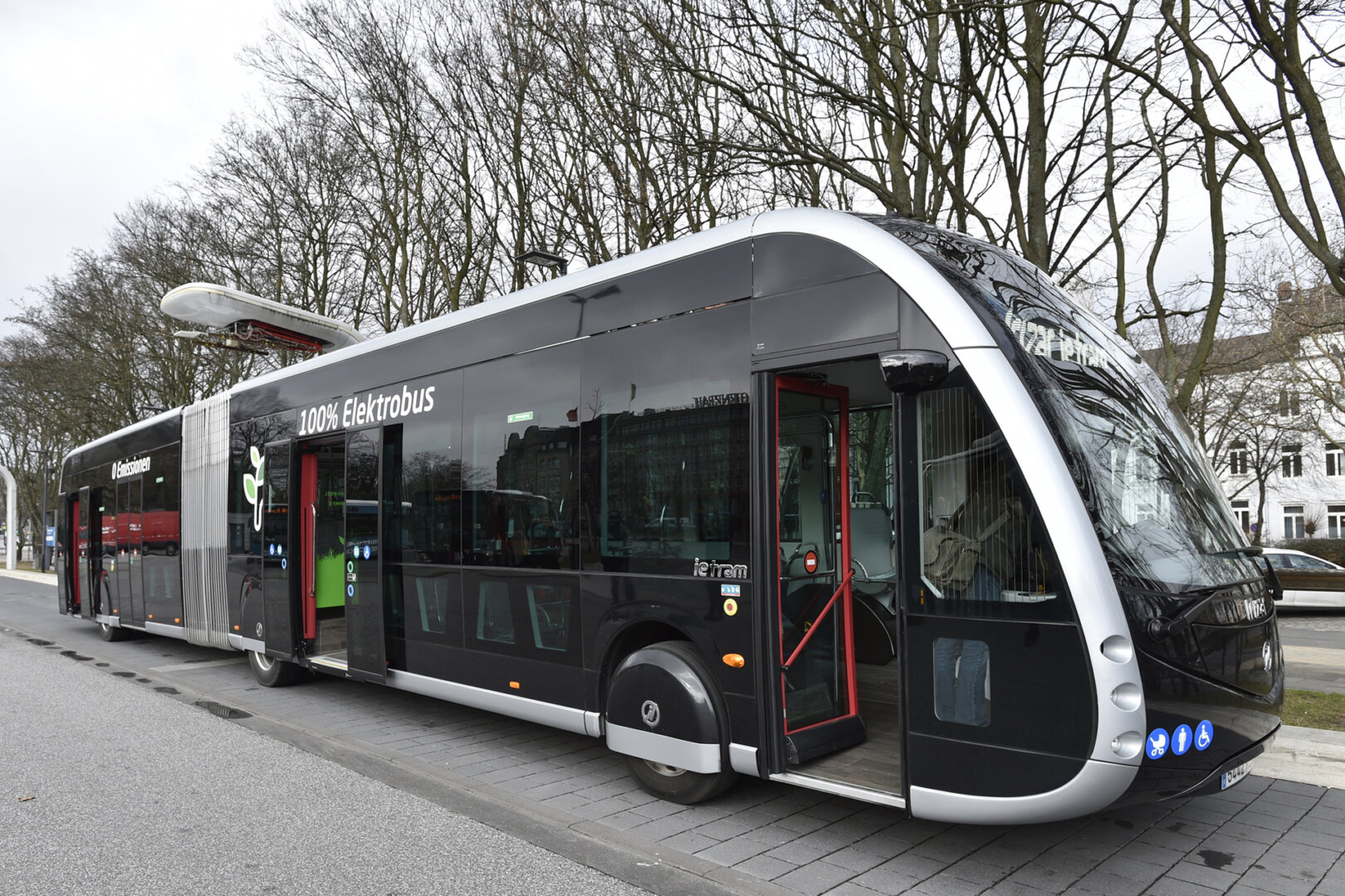 Hamburg Elektro-Gelenkbus