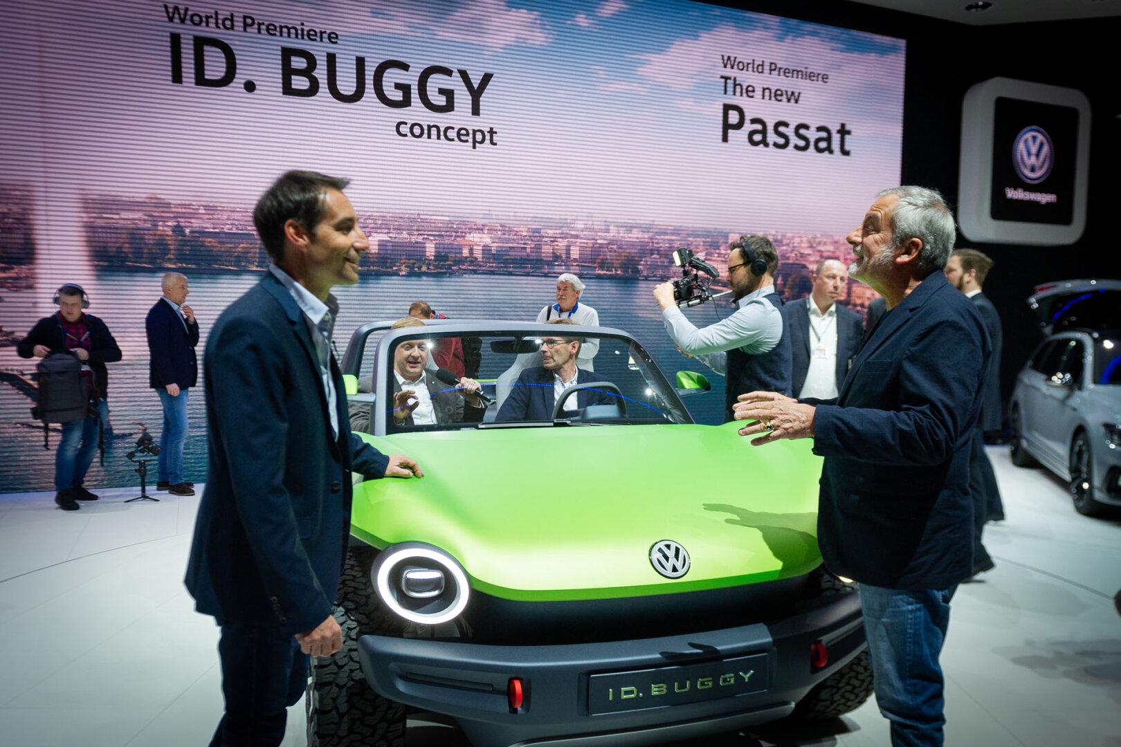 VW ID Buggy Genfer Autosalon