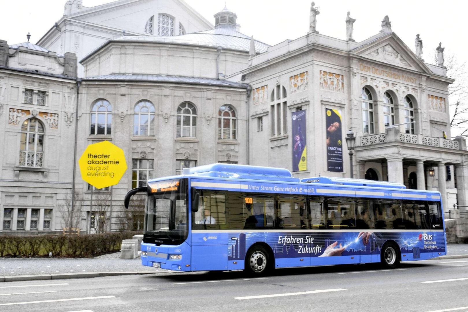MVG E-Bus München