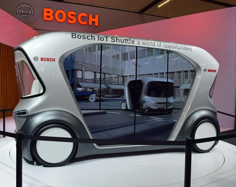 IoT Shuttle von Bosch