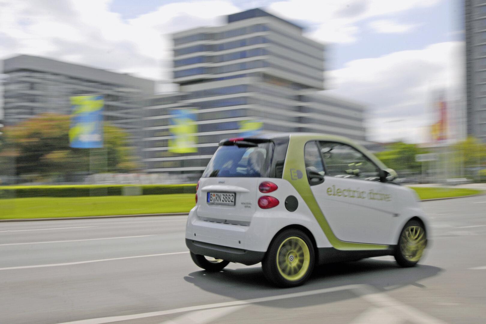 Elektroauto Smart