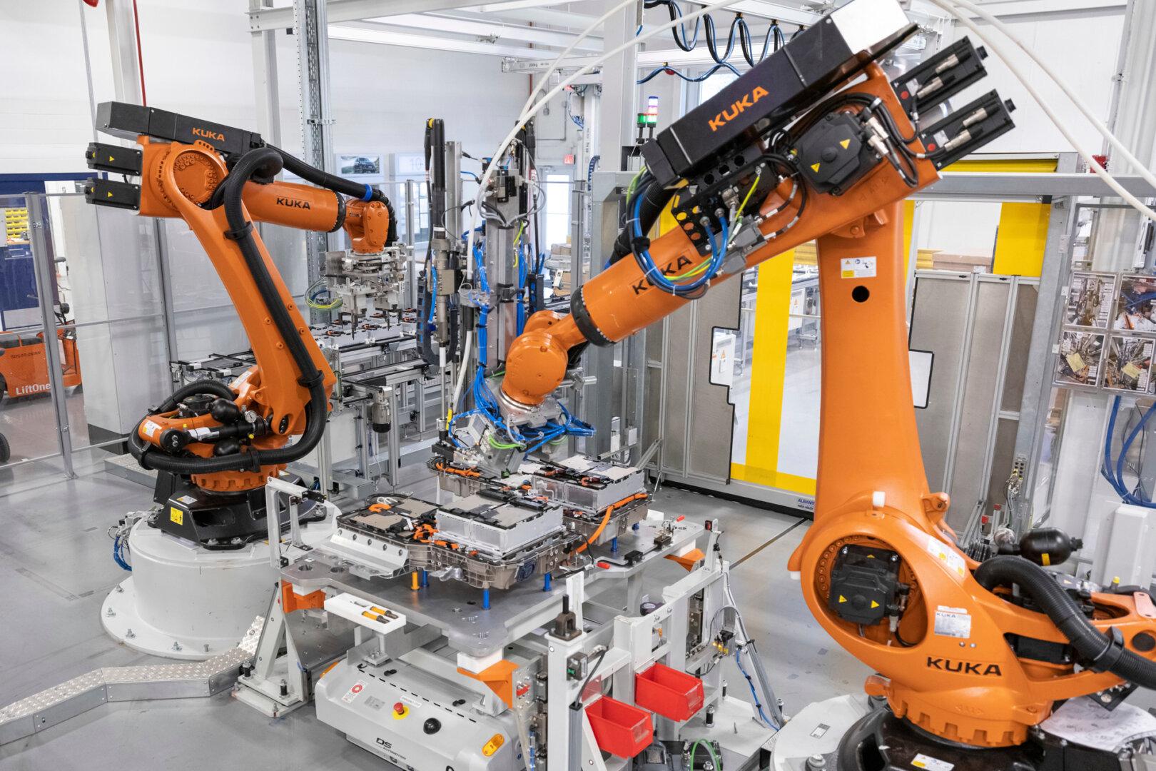 Batteriezellenfertigung BMW
