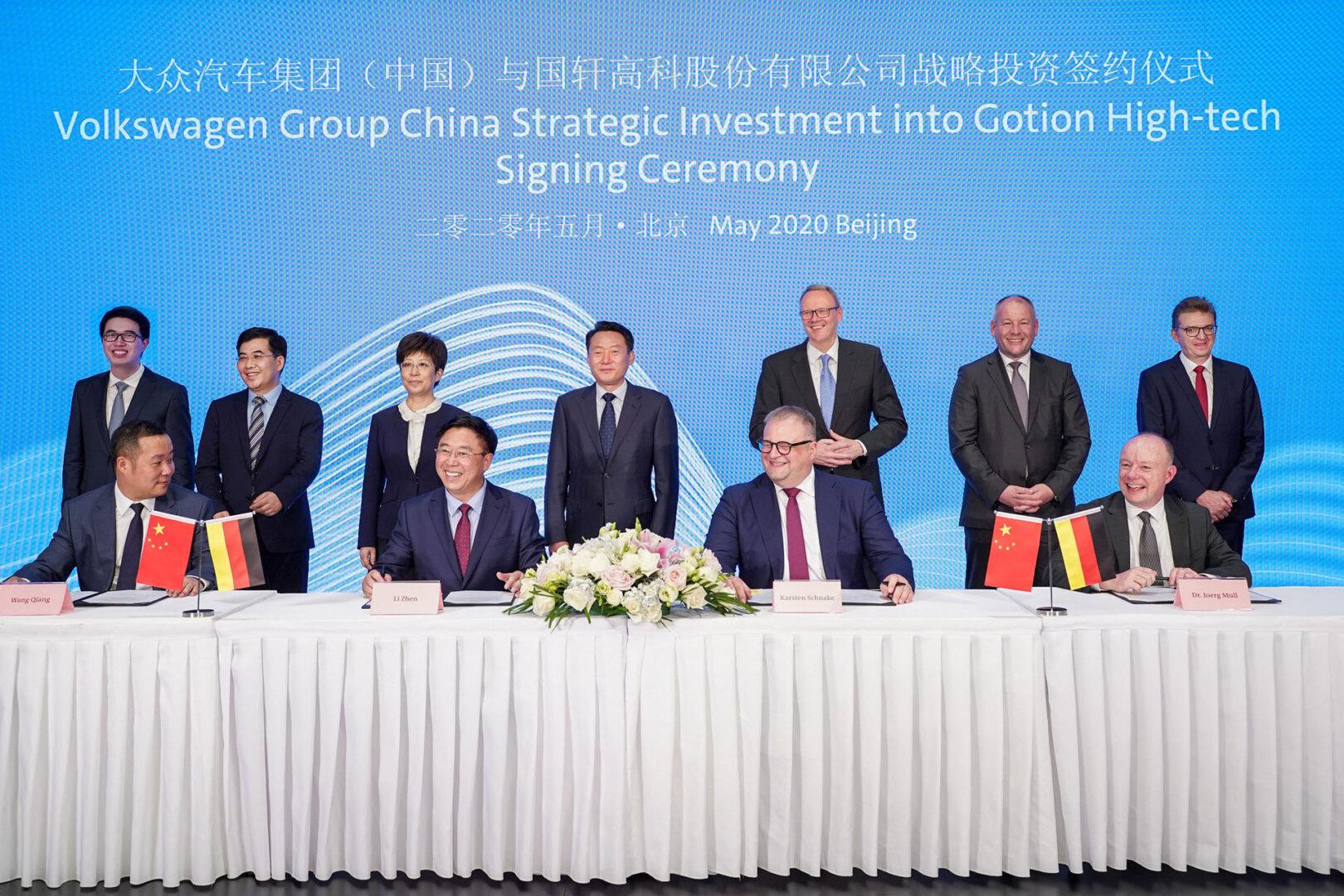 VW China Investitionsvereinbarung