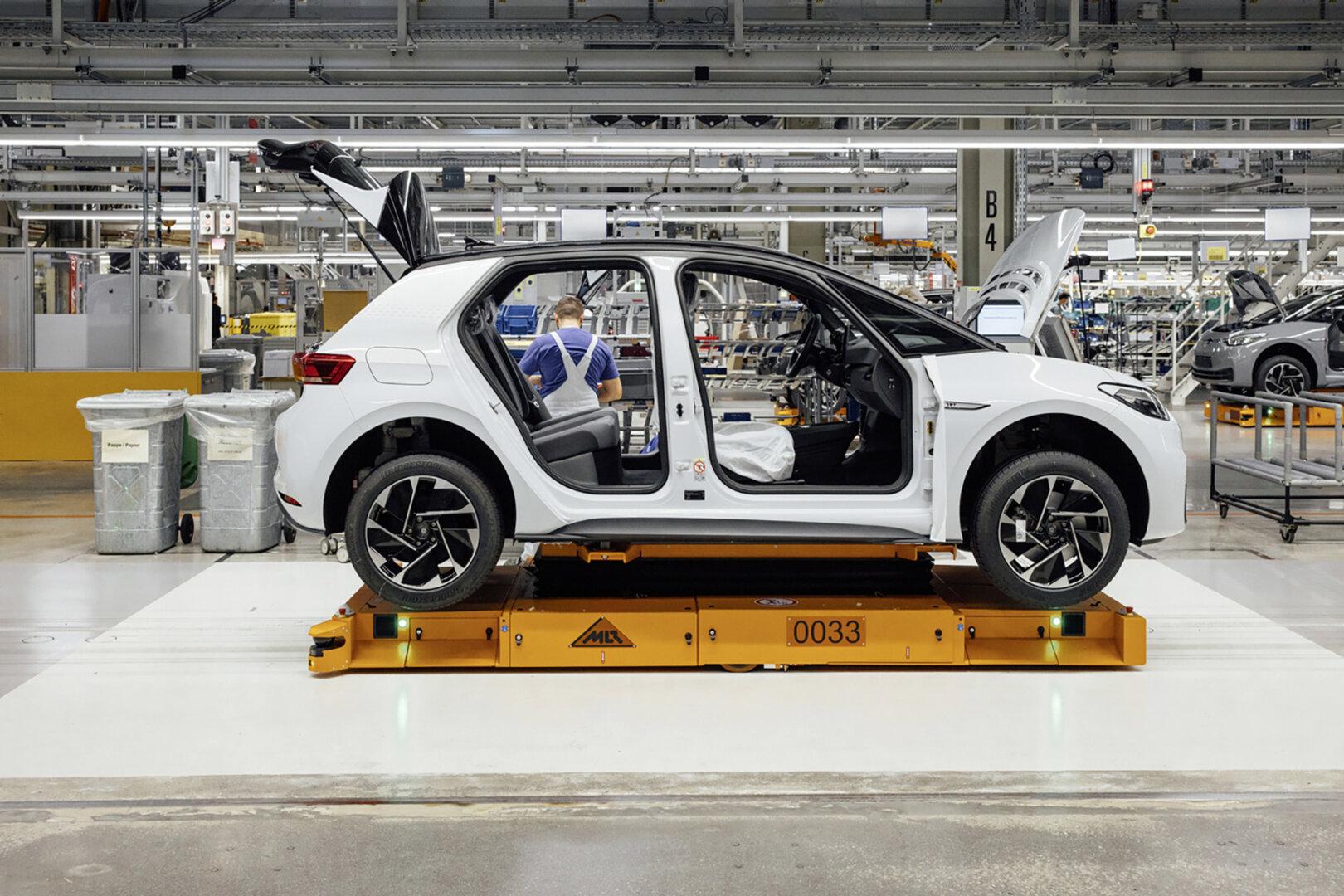 VW ID 3 Produktion Werk
